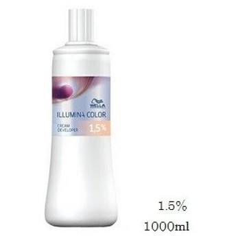 WELLA ウエラ イルミナカラー クリームディベロッパー 1000ml 1.5% (医薬部外品)