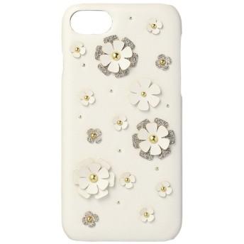 【ボン・フェット/Bonnes Fetes】 iPhone8・7用背面ケース・フラワーペタル/デジタルアクセサリー