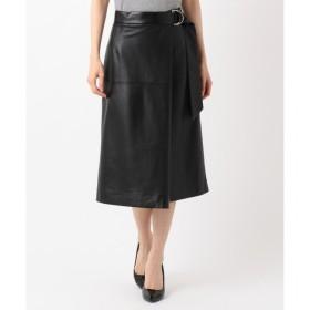 【ジユウク/自由区】 【Class Lounge】LEATHER スカート