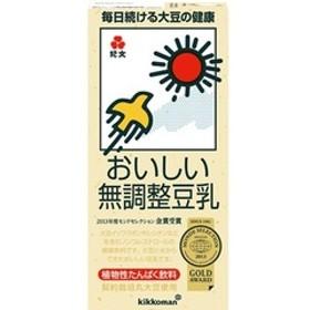キッコーマン おいしい無調整豆乳 (1L*6本入)