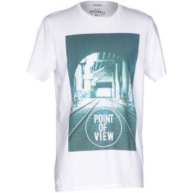 《セール開催中》JACK & JONES ORIGINALS メンズ T シャツ ホワイト XL コットン 100%