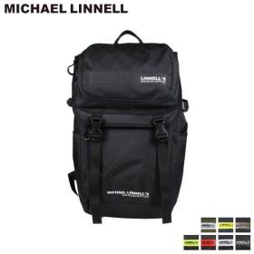 マイケルリンネル MICHAEL LINNELL リュック バッグ 27L メンズ レディース バックパック DOUBLE DECKER ブラック ネイビー カーキ 黒 ML-018 7/26 新入荷