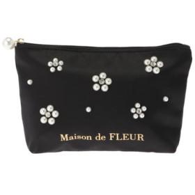 【メゾンドフルール/Maison de FLEUR】 フラワーパールポーチ