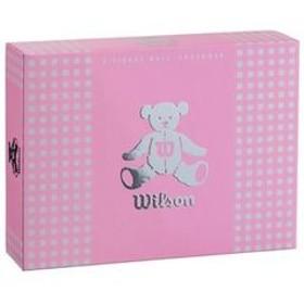 ウイルソン レディースゴルフボール ウイルソンベア 3(ラベンダー)1ダース 12個 WilsonBear BEAR3 LV 12P 【返品種別A】