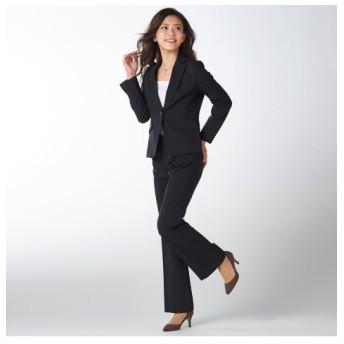 洗えてロングシーズン活躍♪お得な2パンツセットスーツ(股下72cm)【レディーススーツ】 (大きいサイズレディース)スーツ,women's suits ,plus size