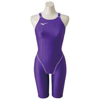 MIZUNO SHOP [ミズノ公式オンラインショップ] 競泳用ハーフスーツ[ジュニア] 69 バイオレット N2MG8421