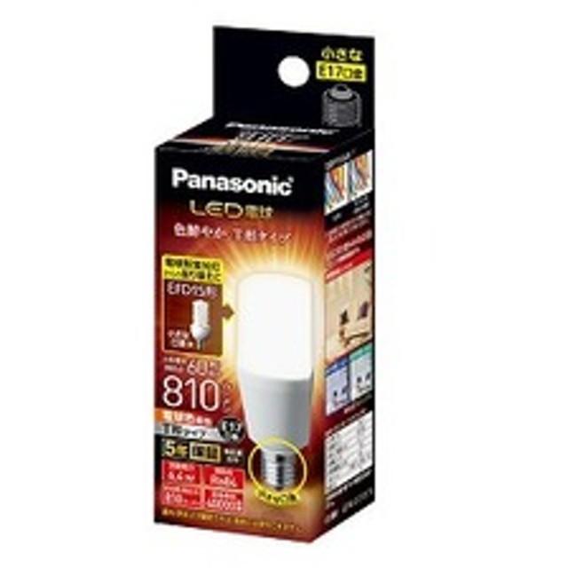 パナソニック LED電球 T型タイプ 全光束810lm LDT6LGE17ST6 [E17 /電球色]