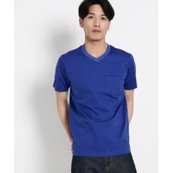 Dessin(Men)(デッサン(メンズ)) VネックポケットTシャツ