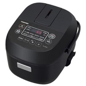 炊飯器 東芝 マイコンジャー炊飯器(3合炊き) ブラック TOSHIBA RC-5MFM-K 【返品種別A】