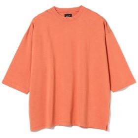 【40%OFF】 ビームス メン BEAMS / シルケット 8分袖 Tシャツ メンズ BRICK M 【BEAMS MEN】 【セール開催中】