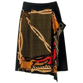 Ranan アシメトリーヘムスカート M レディース 5,000円(税抜)以上購入で送料無料 フレアスカート 夏 レディースファッション アパレル 通販 大きいサイズ コーデ 安い おしゃれ お洒落 20代 30代 40代 50代 女性 スカート