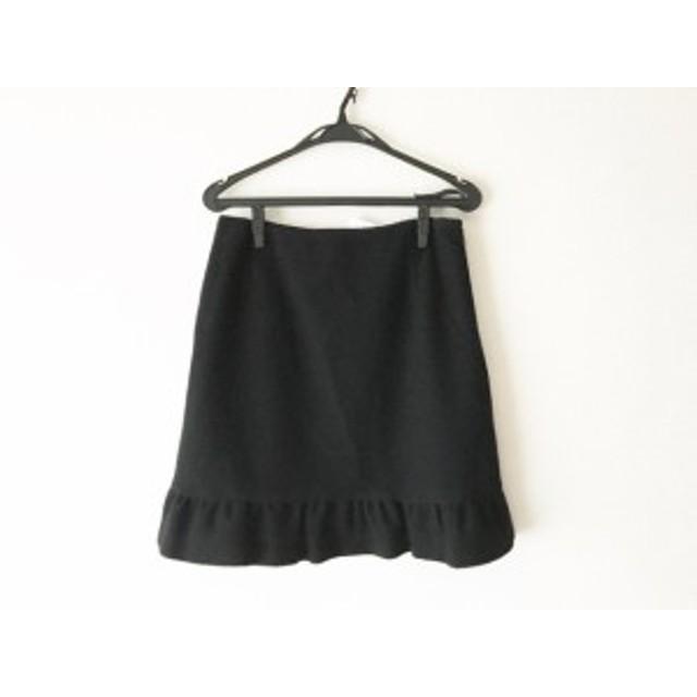 エムズグレイシー M'S GRACY スカート サイズ42 L レディース 黒 ラメ【中古】20190705
