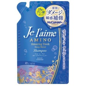 ジュレーム アミノ ダメージリペア シャンプー (ディープモイスト)つめかえ /Jelaime/ジュレーム【正規品】