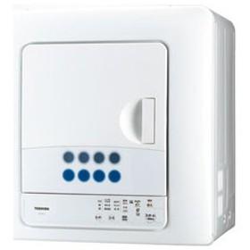 東芝 6.0kg 衣類乾燥機 ピュアホワイト TOSHIBA ED-608-W 【返品種別A】