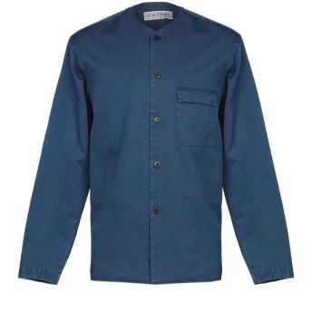 《期間限定セール開催中!》COVERT メンズ デニムシャツ ブルー 40 コットン 65% / テンセル 35%