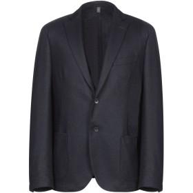 《期間限定セール開催中!》ASFALTO メンズ テーラードジャケット ダークブルー 48 ウール 70% / ナイロン 25% / 指定外繊維 5%