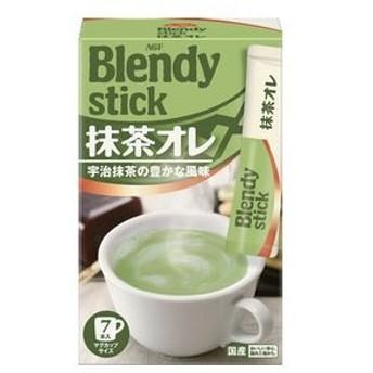 dポイントが貯まる・使える通販  【6個入り】AGF ブレンディ 抹茶オレ 12gX7本 【dショッピング】 清涼飲料 おすすめ価格