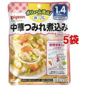 ピジョンベビーフード 1食分の鉄Ca 中華つみれ煮込み (120g*5コセット)