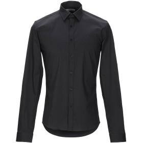 《セール開催中》SIGNS メンズ シャツ ブラック L コットン 79% / ナイロン 18% / ポリウレタン 3%