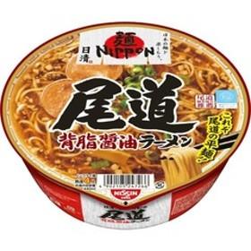 日清 麺NIPPON 尾道背脂醤油ラーメン (121g*12食入)
