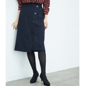 【ロペピクニック/ROPE' PICNIC】 ウーリッシュフラノアイラインスカート