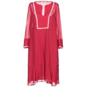 《セール開催中》DOROTHEE SCHUMACHER レディース ミニワンピース&ドレス ガーネット 2 シルク 100%