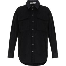 《セール開催中》TELA レディース シャツ ブラック 40 コットン 100%
