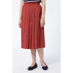 【ヒューマンウーマン/HUMAN WOMAN】 タックプリーツスカート