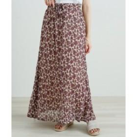 レイカズン(RAY CASSIN)/中花クリンクルマキシスカート