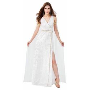 ギリシャ 女神様 ハロウィン セットアップ コスプレ パーティー仮装 レディース コスチューム 大人用