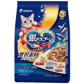 銀のスプーン 贅沢素材バラエティ まぐろ・かつお・白身魚味 (750g)