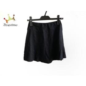 アニエスベー agnes b ミニスカート サイズ1 S レディース 黒   スペシャル特価 20191029