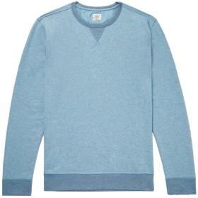 《期間限定 セール開催中》FAHERTY メンズ スウェットシャツ ブルーグレー XS コットン 68% / ポリエステル 32%