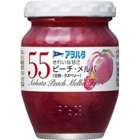 アヲハタ55 ピーチ・メルバ(白桃・ラズベリー) (150g)