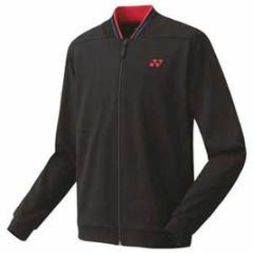 ヨネックス ジュニア ニットウォームアップシャツ(ブラック・サイズ:J140) YONEX YO 50075J 007 J140 【返品種別A】