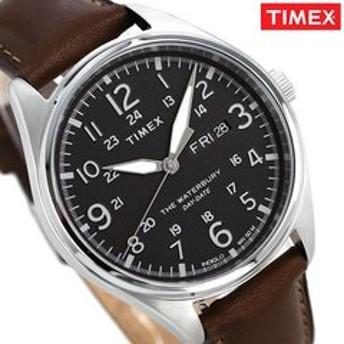 dポイントが貯まる・使える通販| タイメックス ウォーターベリー メンズ 腕時計 TW2R89000 TIMEX ブラック×ダークブラウン 【dショッピング】 腕時計 おすすめ価格
