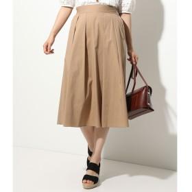 【ビス/ViS】 ウエストシャーリングスカート