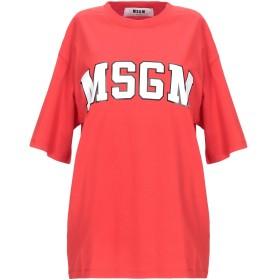 《期間限定 セール開催中》MSGM レディース T シャツ レッド XS コットン 100%