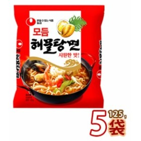 【S】【農心】海鮮ラーメン ★ 150g x 5袋 ★ ヘムルタンメン ヘムル湯麺 海鮮湯麺 海鮮鍋ラーメン 韓国食品 輸入食品 韓国ラーメン 非常