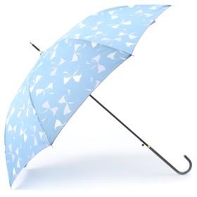 【ボン・フェット/Bonnes Fetes】 【晴雨兼用】リルキャットリボン・アンブレラ/ロング