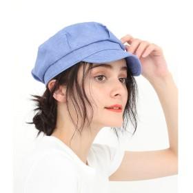 【アダム エ ロペ ル マガザン/Adam et Rope Le Magasin】 フレンチリネンワークキャップ
