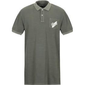 《期間限定セール開催中!》LIU JO MAN メンズ ポロシャツ ミリタリーグリーン S コットン 100%