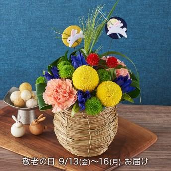 【日比谷花壇】敬老の日 アレンジメント「月夜のダンス」