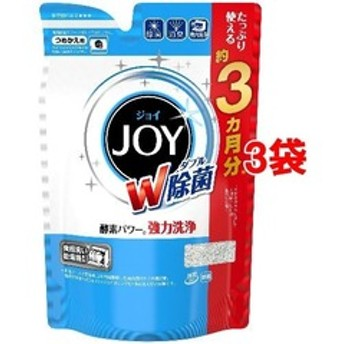 dポイントが貯まる・使える通販| ハイウォッシュジョイ 食洗機用洗剤 除菌 つめかえ用 (490g*3コセット) 【dショッピング】 キッチン用洗剤 おすすめ価格