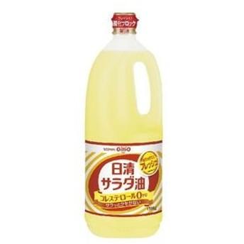 【10個入り】日清オイリオ サラダ油 ポリ 1500g