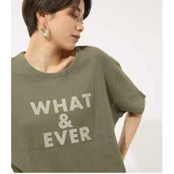 【AZUL by moussy:トップス】WHAT&EVER TEE