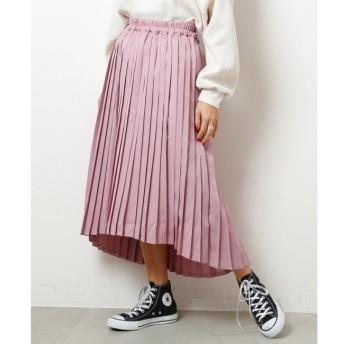 【ダブルネーム/DOUBLE NAME】 イレヘムプリーツスカート