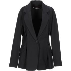 《期間限定 セール開催中》COLLECTION PRIVE レディース テーラードジャケット ブラック 40 ナイロン 87% / ポリウレタン 13%