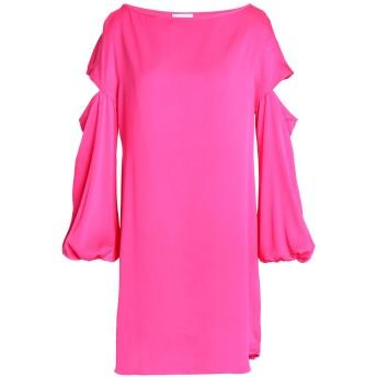 《期間限定セール開催中!》MILLY レディース ミニワンピース&ドレス フューシャ XS シルク 92% / ポリウレタン 8%
