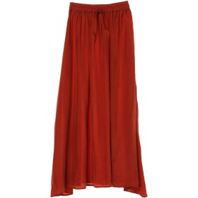 【6,000円(税込)以上のお買物で全国送料無料。】キュプラギャザースカート